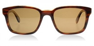 Oliver Peoples 5253S 131083 Amaretto Striped Honey Wyler Sun Wayfarer Sunglasse
