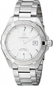 TAG Heuer Men's WAY2111.BA0910 Analog Display Swiss Automatic Silver Watch
