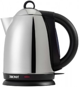 Aroma AWK-115S Hot H20 X-Press 1-12-Liter Cordless Water Kettle