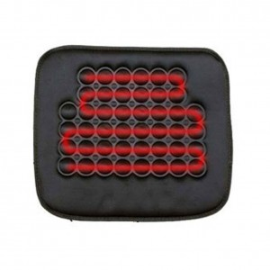 Koolertron Car Heated Seat Cushion Hot Cover Auto 12V Heat Heater Warmer Pad-winter Black