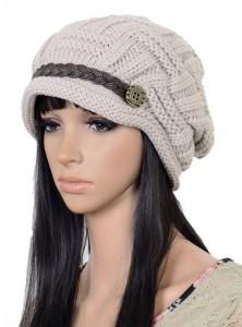42fc07f74face Fashion Women Knit Snow Hat Winter Snowboarding Beanie Crochet Cap Hats