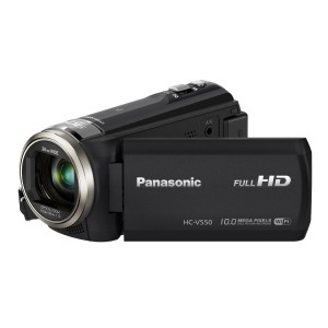 Panasonic HC-V550K Full HD Wi-Fi Enabled 90X Stable Zoom Camcorder with 3-Inch LCD (Black)