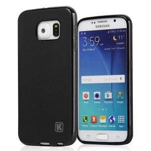 KAYSCASE Slim Soft Gel Cover Case for Samsung Galaxy S6 & S6 Edge