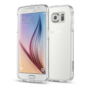 MoKo Samsung Galaxy S6 Case – Scratch Resistant Halo series Hybrid Cover