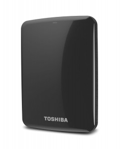 Toshiba Canvio Connect 1TB Portable Hard Drive