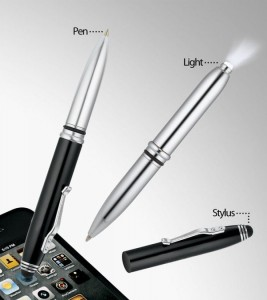 WizGear 3 in 1 Stylus Pen