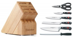 Wusthof Classic 7-Piece Cutlery Set with Storage Block (2)