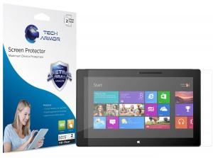 #5. Tech Armor Microsoft Surface Pro 3 HD Clear Screen Protectors