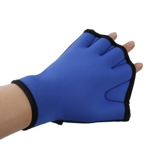 Innogear Water Resistance Training Fingerless Webbed Swim Gloves