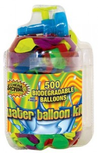 Water sports balloon refill kit