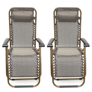 Kingso Zero Gravity Reclining Patio Chair