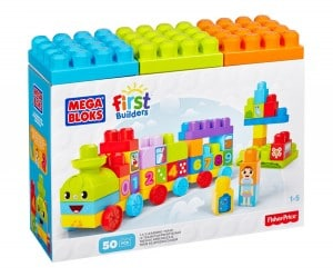 Mega Bloks First Builders 123 Learning