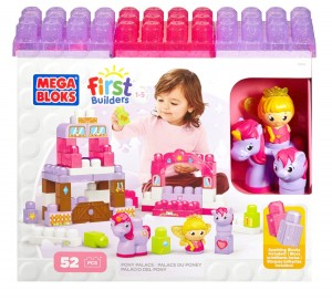 Mega Bloks First Builders Pony Palace
