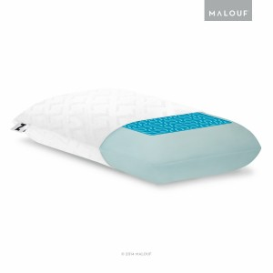 Z Gel Infused Memory Foam Gel Pillow from