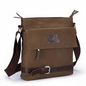 Zebella Vintage Messenger Backpack