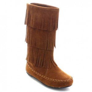 Betani Denise Knee High Mocassin Boot