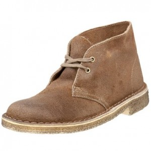 Clarks Women's Desert Boot Lace-Up Boot