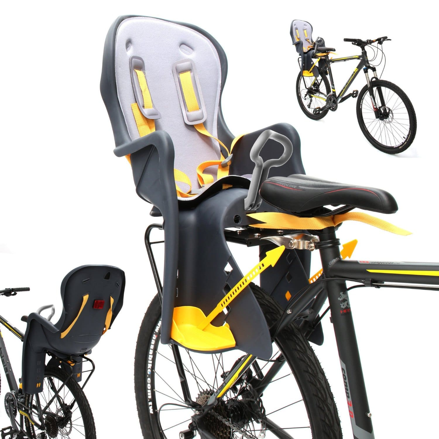 Top 10 Best Baby Bicycle Seats in 2018 Review