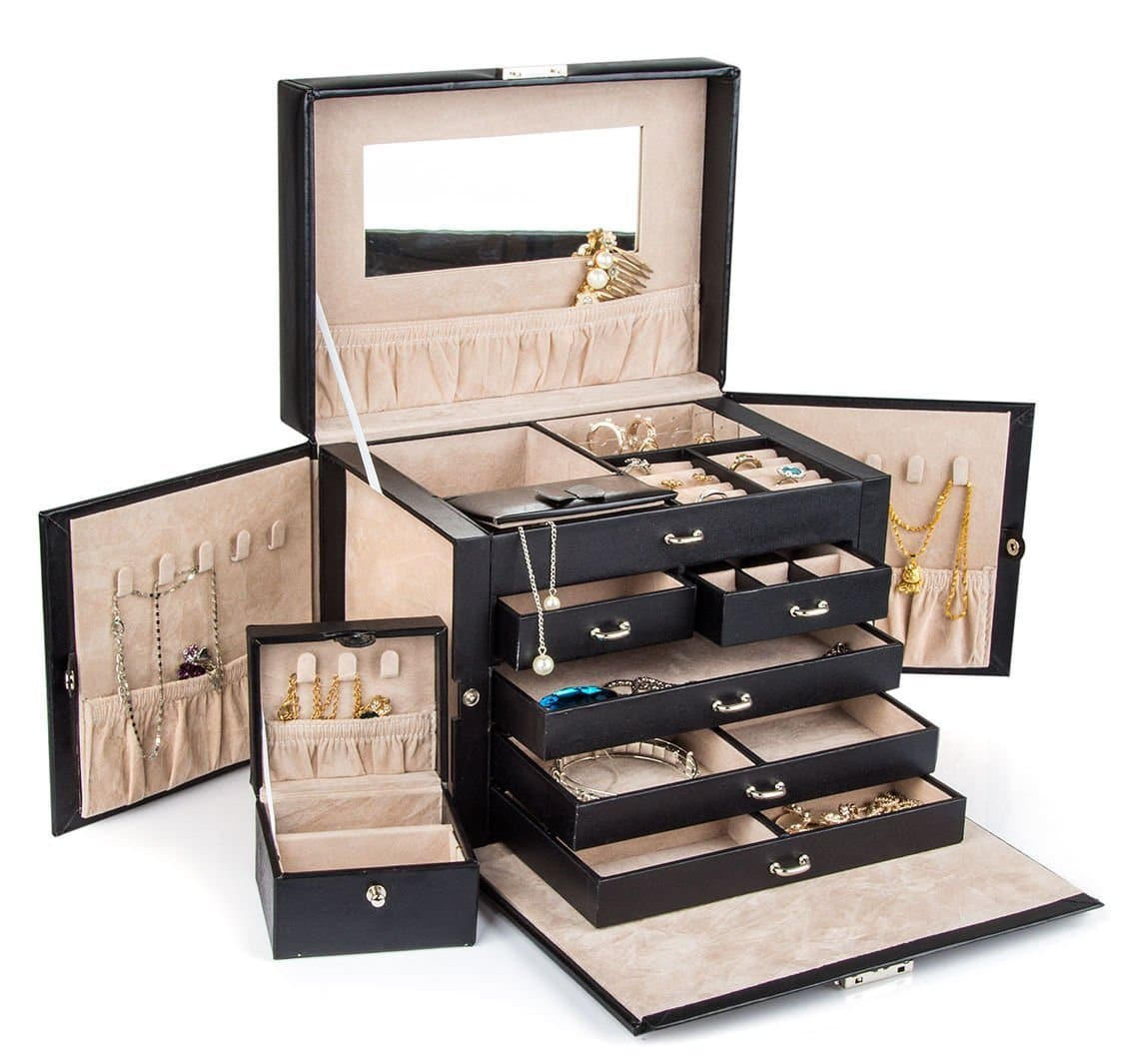 Top 10 Best Jewelry Boxes 2019 Review