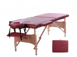 Merax Deluxe Portable Massage Table