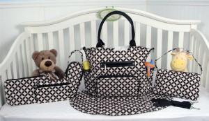 SoHo Collection Diaper Bag