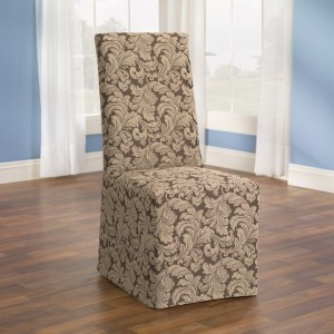 Sure Fit Scroll Dining Room Chair Cover