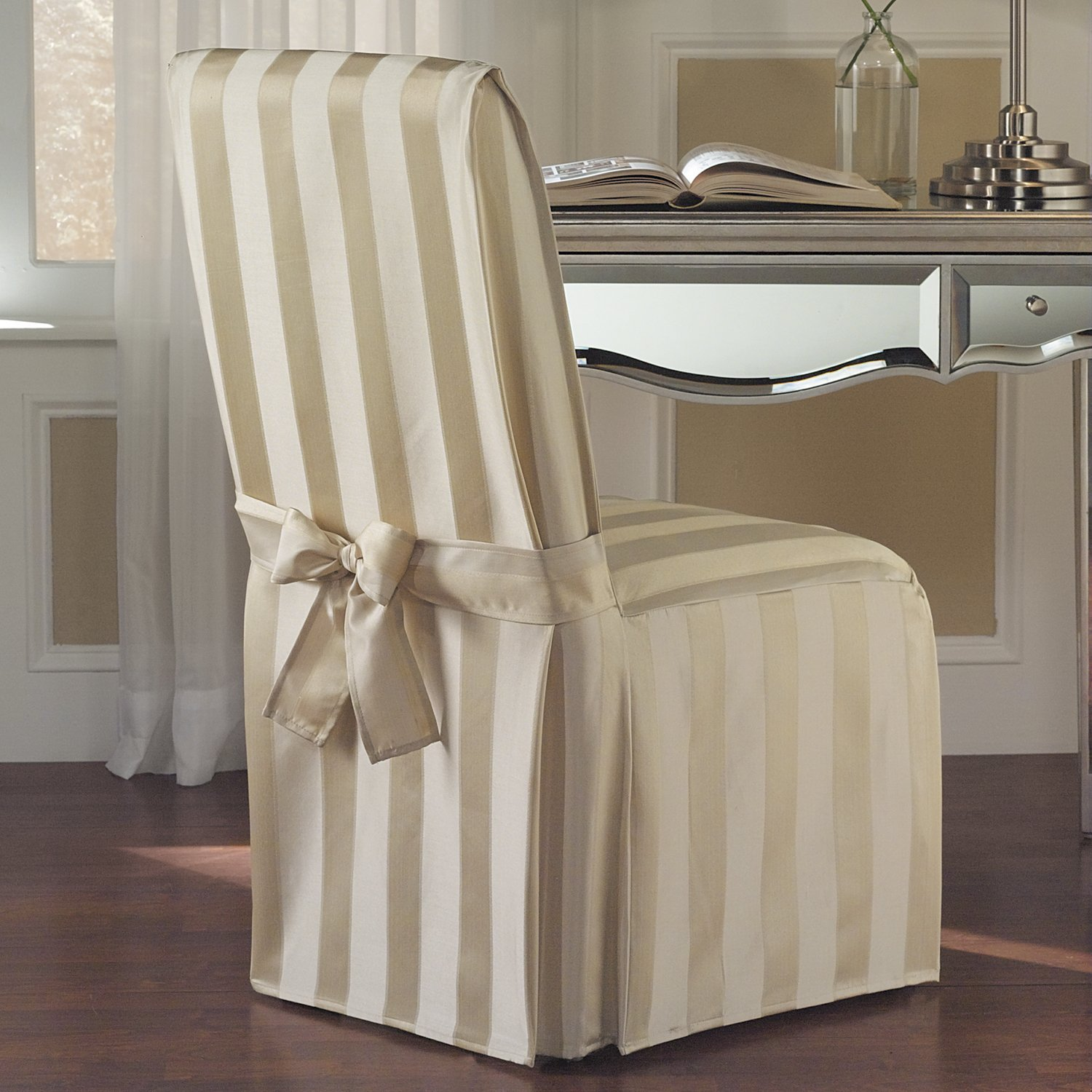 Top 10 best dining room chair covers for sale in 2015 review for Dining room chair covers