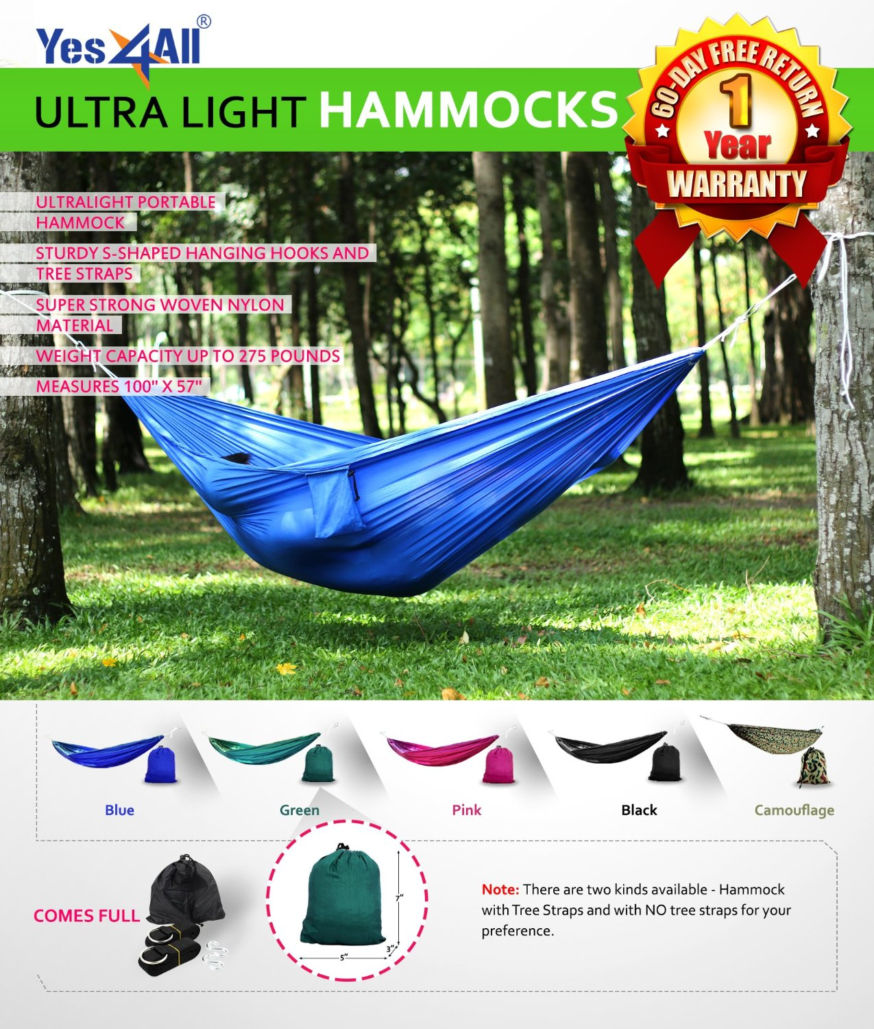 Top 10 Best Portable Hammocks In 2019 Review