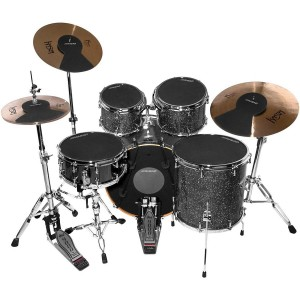 Ahead Drum Silencer Pack with Cymbal and Hi-hat Mutes 12, 13, 14, 16 and 22 in.