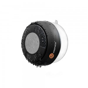 Bluetooth Shower Speaker, TaoTronics® Water Resistant Portable Wireless Shower Speaker (Crisp Sound, Build-in Microphone for Hands-Free