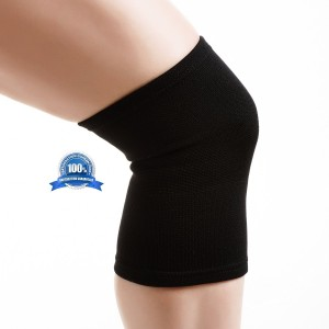 Compression Knee Sleeve by Wolsport - Premier Sports Accessories for Improved Circulation & Relief from Arthritis & Joint Pain