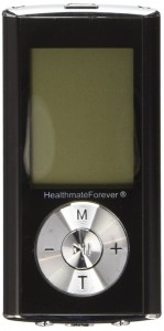 FDA cleared OTC HealthmateForever TENS unit HM6G (Black) 6 modes Pain Relief digital Electrotherapy Electronic Pulse Massager, Pain Manageme