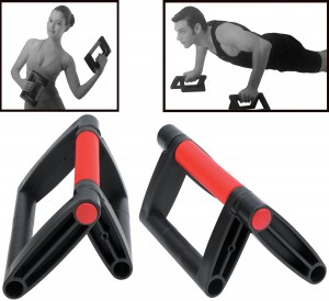 HemingWeigh Foldable Push Up Bar, Collapsible Pushup Stand Lightweight and portable