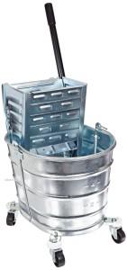 Impact 2000260 Metal Squeeze Wringer Combo Bucket, 26 qt Capacity