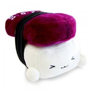 Japanese Food Sushi small Cushion Gift Plush Toy Decoration Pillow Hit Gift Toy ~Octopus 6