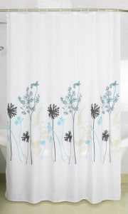 Magic Vida Bathroom Decorative Stylish and Subtle Plants Autumn Tree Shower Curtain Nature Series Vivid Color Cooling Bathroom (72-Inch by 7