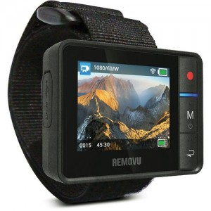 Removu RM-R1 Live View Remote for GoPro HERO3HERO3+HERO4 and GoPro Hero4 Session (Black)