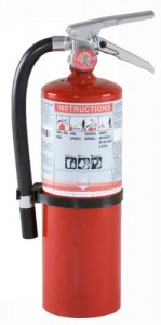 Shield Fire Protection 10916R 220 2A20BC 5lb Fire Extinguisher