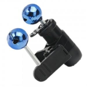 2 X Electronic Intelligent Fishing Rod Light bell Alarm LED LIGHTS
