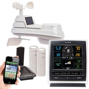 AcuRite 01085RM Pro Color Weather Station with Wireless Temperature and Humidity Sensors, Monitor from Anywhere on a Smart Phone, Tablet or L