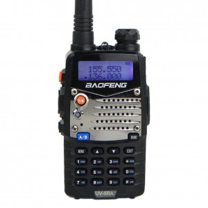 Baofeng UV5RA Ham Two Way Radio 136-174400-480 MHz Dual-Band Transceiver (Black)