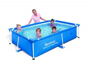 Bestway 56041 Rectangular Splash Frame Pool, 94 by 59 by 23-Inch (Discontinued by Manufacturer)