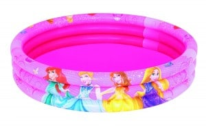 Bestway Disney Princess 3 Ring Pool Swimming Paddling Children Inflatable