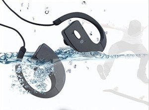 Bluetooth Headset ,Waterproof Bluetooth headphone, Earhook Mini Wireless Stereo Bluetooth BT Headset Headphone Earphone Earpiece Earbud with Nois