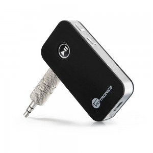 Bluetooth Receiver Car Kit, TaoTronics Portable Wireless Audio Adapter 3.5 mm Stereo Output (Bluetooth 4.0, A2DP, Built-in Microphone) for Home Aud