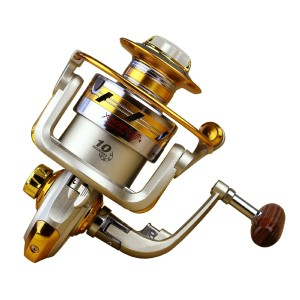 Boleno New 10BB Ball Bearing Saltwater Freshwater Sea Fishing Spinning Reel 5.51 Hot