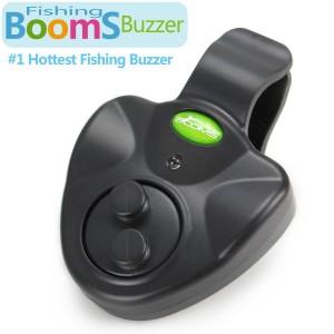 Booms Fishing Electronic Fish Bite Buzzer Black