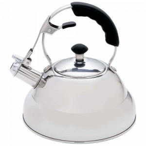 Chef's Secret® 2.75qt Surgical Stainless Steel Tea Kettle with Copper Capsule Bottom