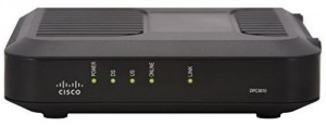 Cisco DPC3010 (Comcast, TWC, Cox Version) DOCSIS 3.0 Cable Modem [Bulk Packaging]