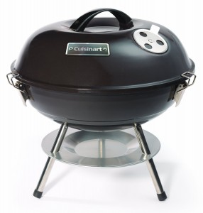 Cuisinart CCG-190 Portable Charcoal Grill, 14-Inch, Black